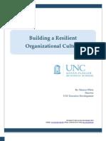 Building a Resilient Organizational Culture