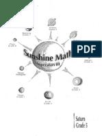 Sunshine math grade 5 pdf