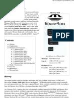 Memory Stick - Wikipedia, The Free Encyclopedia