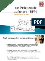 Buenas Prácticas de Manufactura - BPM
