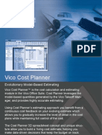 Vico Cost Planner Bim Estimating Software