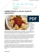 Sorrentinos, La Pasta Made in Argentina _ Argentinosencasa