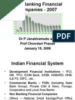 Non Banking Financial Companies - 2007