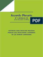 Acuerdo Plenario Sobre Rondas Campesinas - Explicado