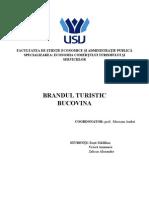 Brandul Turistic Bucovina