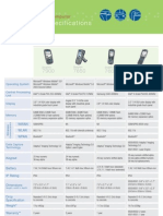 Technical Specifications Mobile