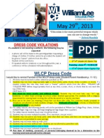 26th Newsletter 5-29-2013