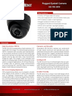 Rugged, Weather-Proof High-Resolution Day/Night Eyeball Camera with IR Illumination - Ascendent Technology Group - EB-700-2810