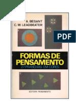 Formas de Pensamento (rev)  -  Annie Besant e C. W. Leadbeater.doc