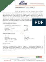 Hte046 Carbonato de Calcio f