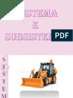 Sistema e Subsistema