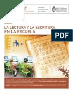 La Escritura y La Lectura en La Escuela