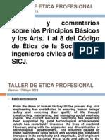 Taller de Etica Profesional Viernes 17-05-13