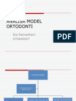 Analisa Model Ortodonti (IKA)