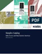 Simplex Catalog July 2013