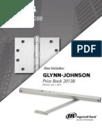 Ives/Glynn Johnson Price Book 2013