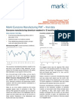 Eurozone Manufacturing PMI - May 2013