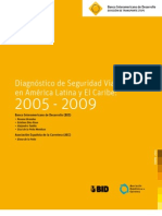 Diagnostico de Seguridad Vial en America Latina 2005 - 2009