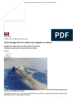 G1 - Nasa divulga foto de vulcão em erupção no Alasca - notícias em Ciência e Saúde