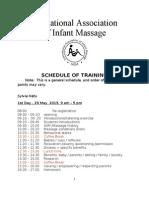 Jadwal Training Detail