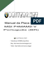 Placa Mãe MSI P4MAM2-V (Manual PT-BR)