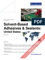 Solvent Based Adhesives and Sealants