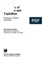A Theory of Socialism and Capitalism - Hans-Hermann Hoppe