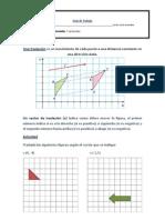 Guía de Geometría 3º reflexion