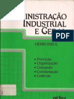 Administração Industrial e Geral - Henry Fayol