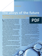 The Alloys of the Future