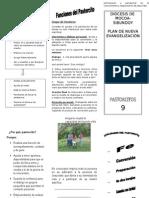 PLEGABLE 9 PASTORCITOS