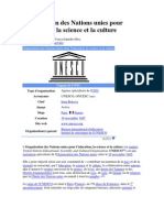 Organisation Des Nations Unies Pour l