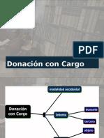 Donación con Cargo