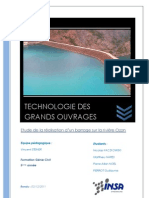 Technologie Des Grands Ouvrages - Etude Barrage