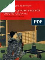 La Hospitalidad Sagrada Entre Las Religiones