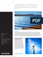 Mfg Sustainability Whitepaper