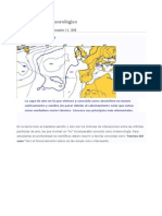 Leer El Mapa Meteorologico