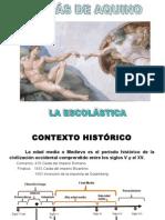 TOMÁS DE AQUINO Y LA ESCOLÁSTICA (1)