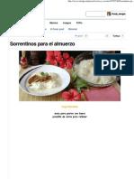 Sorrentinos Para El Almuerzo - Taringa!