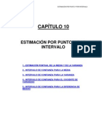 4 Tema 10 Estimacion Por Punto y Por Intervalo