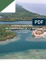 Leyenda Nacional de Coberturas de La Tierra Corine Land Cover Colombia