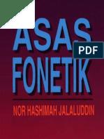 Buku Asas Fonetik