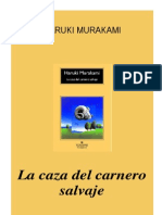 Murakami, Haruki - La Caza Del Carnero Salvaje [PDF]