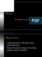 The Marketing Mix-Price