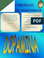Inotropicos Dopamina y Dobutamina