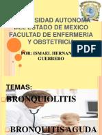 Bronquitis y Bronquiolitis Unico