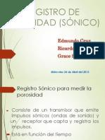 Registro de Porosidad Grupo 3