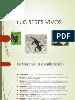 CLASIFICACIÓN DE LOS SERES VIVOS Prof Jairo