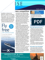 Cruise Weekly for Tue 04 Jun 2013 - Lindblad, Tall ships, Sail Capricornia, Grandeur repairs and much more