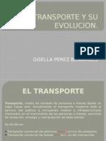 El Transporte y Su Evolucion